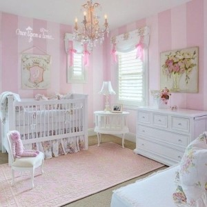 pembe bebek odasi dekorasyonu