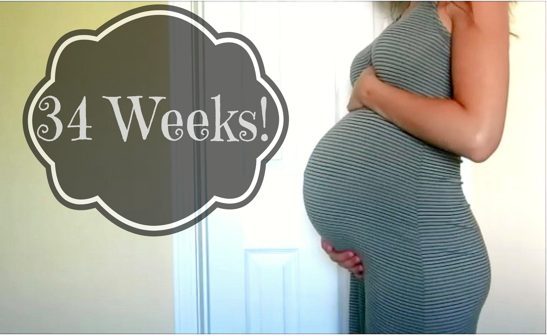 34 haftalik anne adayi görünümü