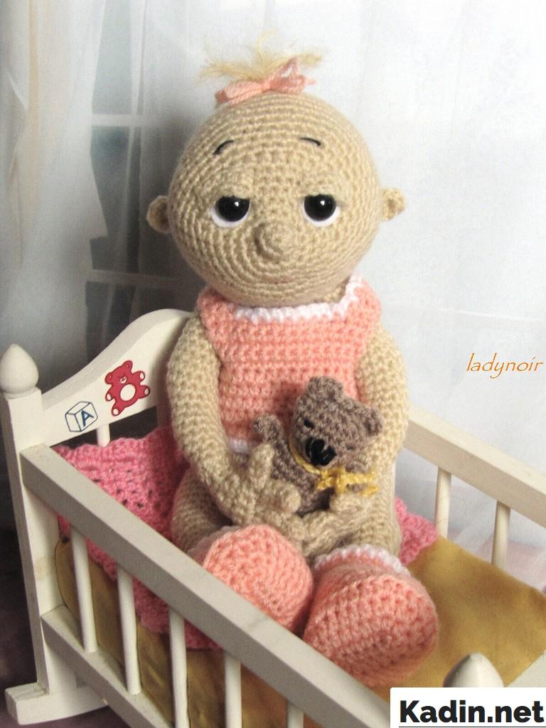 amigurumi bebek ornegi